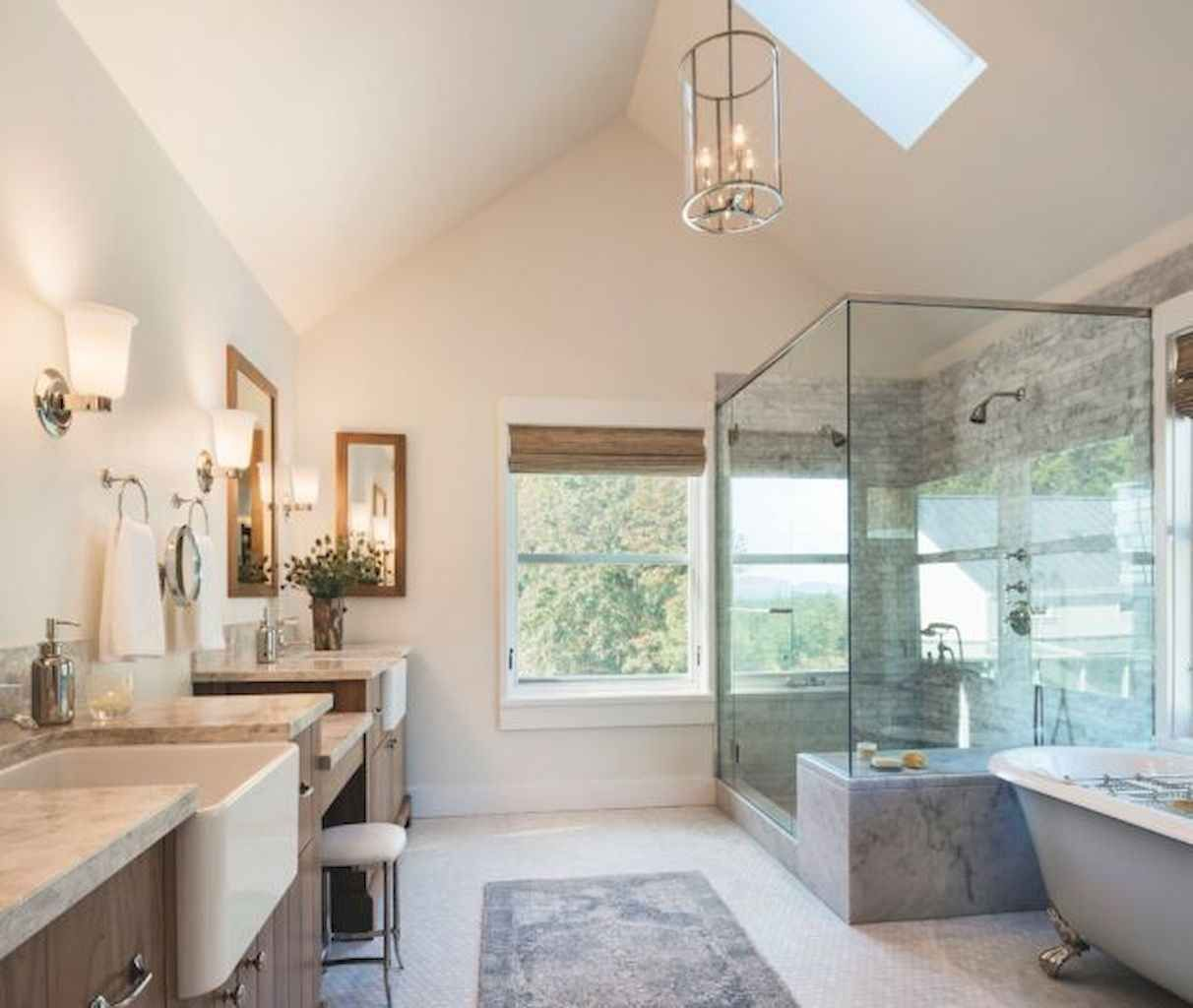 14 beautiful farmhouse master bathroom remodel ideas in on beautiful farmhouse bathroom shower decor ideas and remodel an extraordinary design id=70785