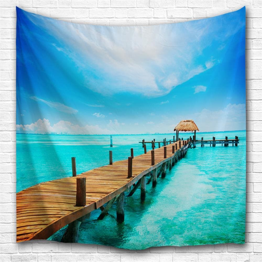 island pier 3d printing home wall hanging tapestry for on walls coveralls website id=69360