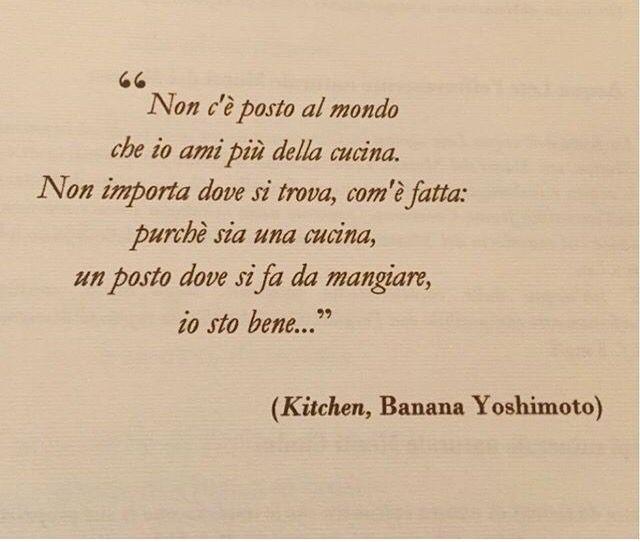 Banana Yoshimoto Kitchen Citazioni Rap Citazioni Citazioni