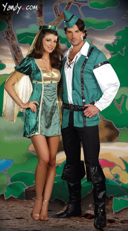 Robin Hood Couples Costume Halloween 2 Pinterest Robin hoods - couples costume ideas for halloween