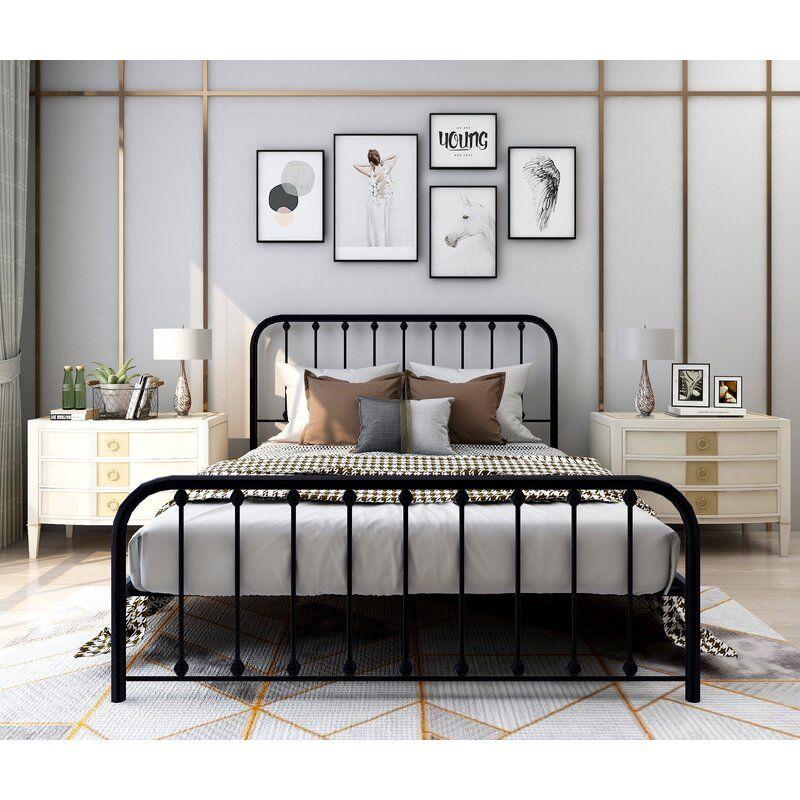 17+ Iron farmhouse bed frame ideas in 2021