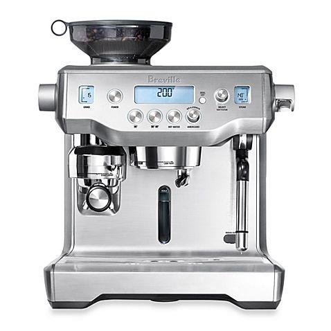 Breville The Oracle Bes980xl Espresso Machine Home Coffee Machines Coffee Making Machine Cappuccino Machine