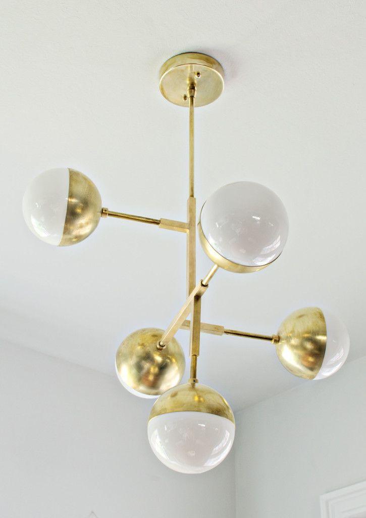 Lucent lightshop brass globe chandelier brittanymakes