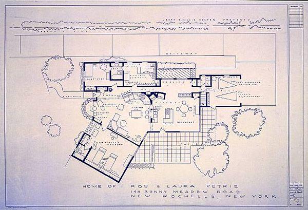 tv movie home blueprints rob laura petrie - Home Blueprints