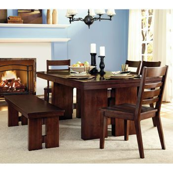Tulare 6 Piece Dining Set Dining Table In Kitchen Dining Table Dining Set With Bench
