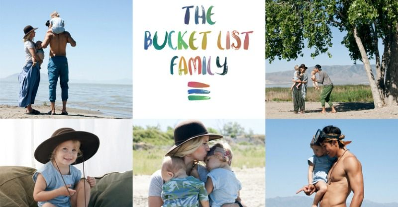 Meet the Bucket List Family travelling the world, living the dream and sending an important message to all families #Charity, #Family, #Travelling