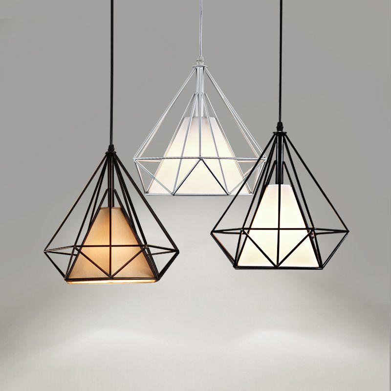 Find More Pendant Lights Information About Nordic Pendant Light Black Cage Pendant Lamp Luminaire E27 Hanglamp Scandinavian Lamps Cage Pendant Lamp Caged Lamp