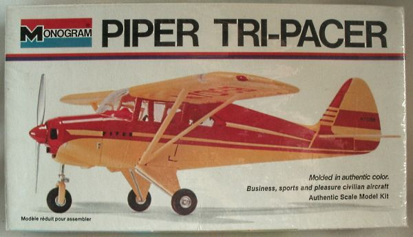 PIPER TRI PACER MODEL AIRPLANE | Old Plastic Model Kits