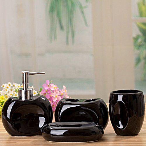 Ceramic Bathroom Set Bathroom Kit Wash Kit Lotion Bottle