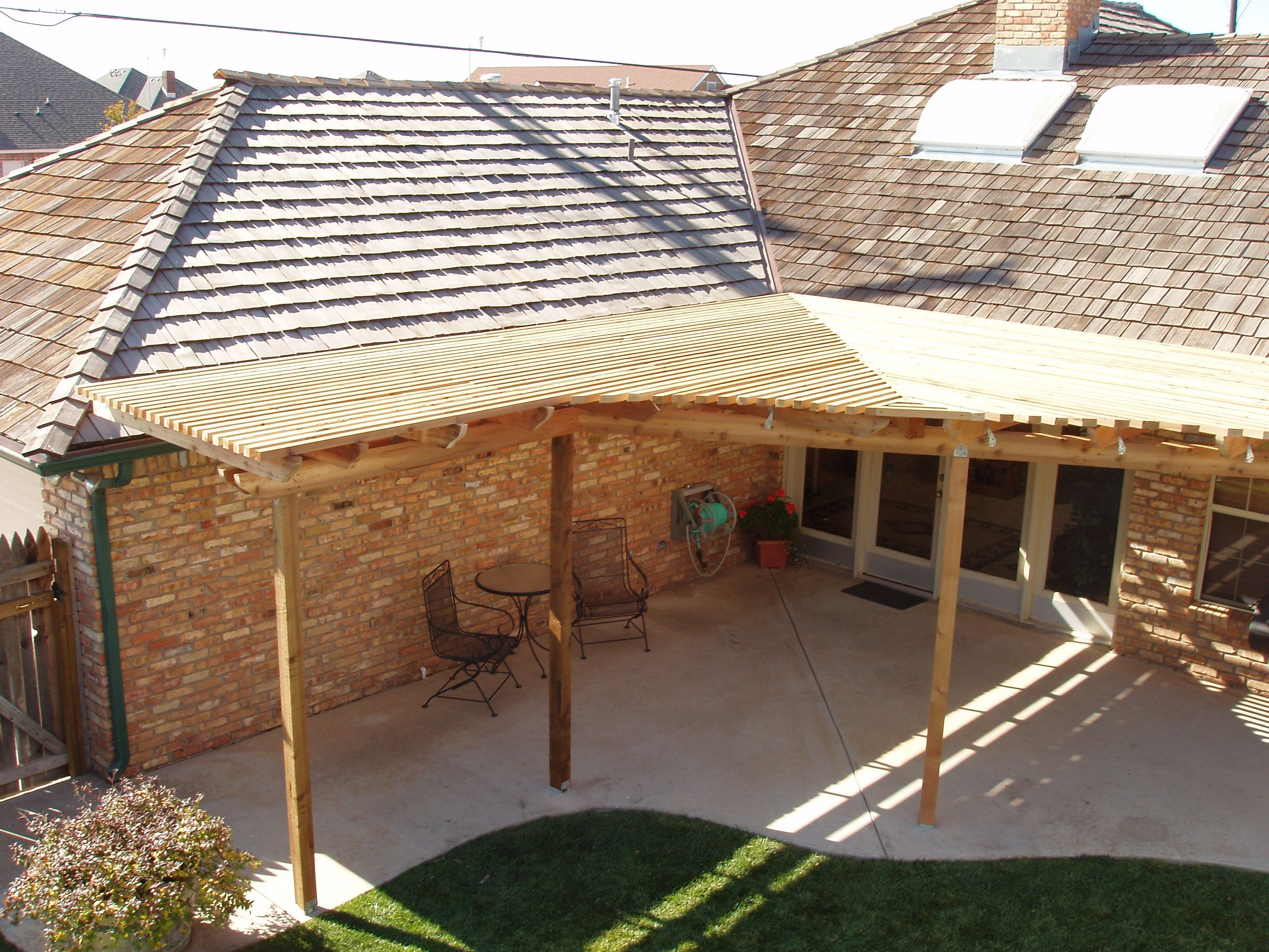 cover idea patio roof s - Roofing Ideas For Patio