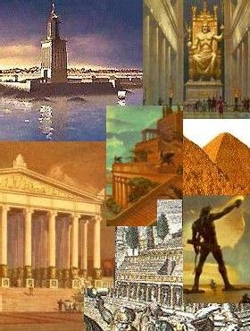 7 Merveilles du monde antique - 827 Mots | Etudier