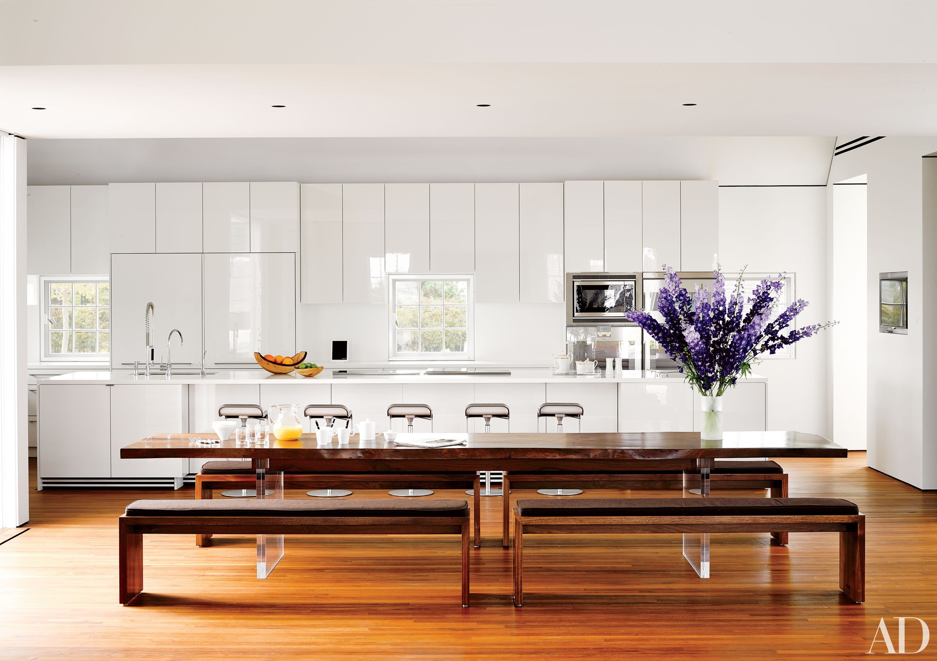 White Kitchens Design Ideas  Architectural Digest Kitchens And Pleasing Kitchen Design Massachusetts Design Inspiration