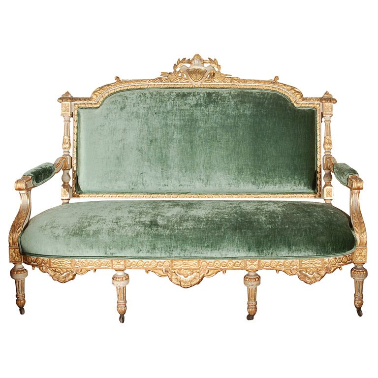 Napoleon III Canape   Canapés, Napoleon and Country décor