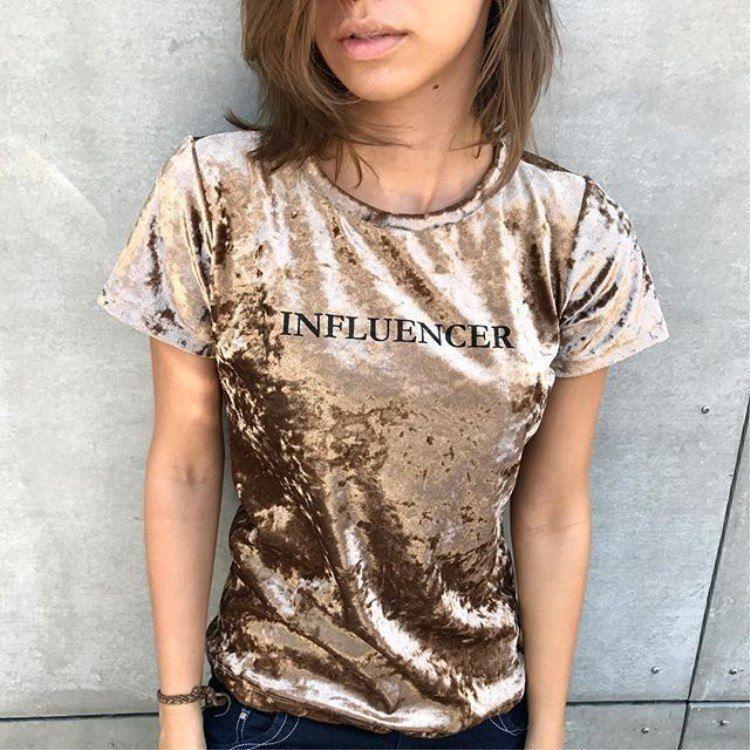 8d6dcb87f8a2 Купить товар Женские футболки, бархатный костюм ins, популярные ...