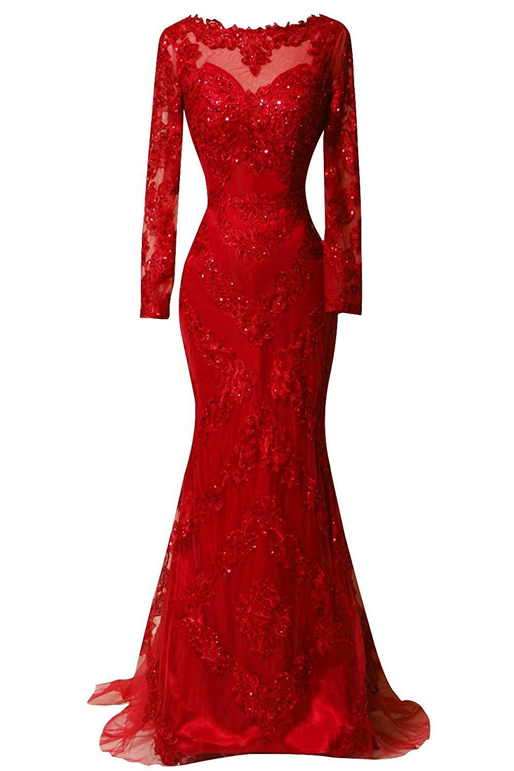 Orient bride scoop beaded appliques formal evening dresses with long