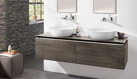 Villeroy \ Boch waskom Loop \ Friends Timber bathroom Pinterest - badezimmer villeroy und boch
