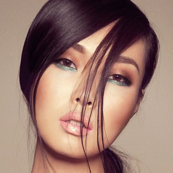 could try asian makeup for girls who have smaller thinner round