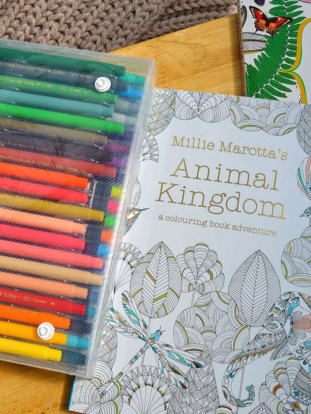 Im Addicted To Adult Coloring Books