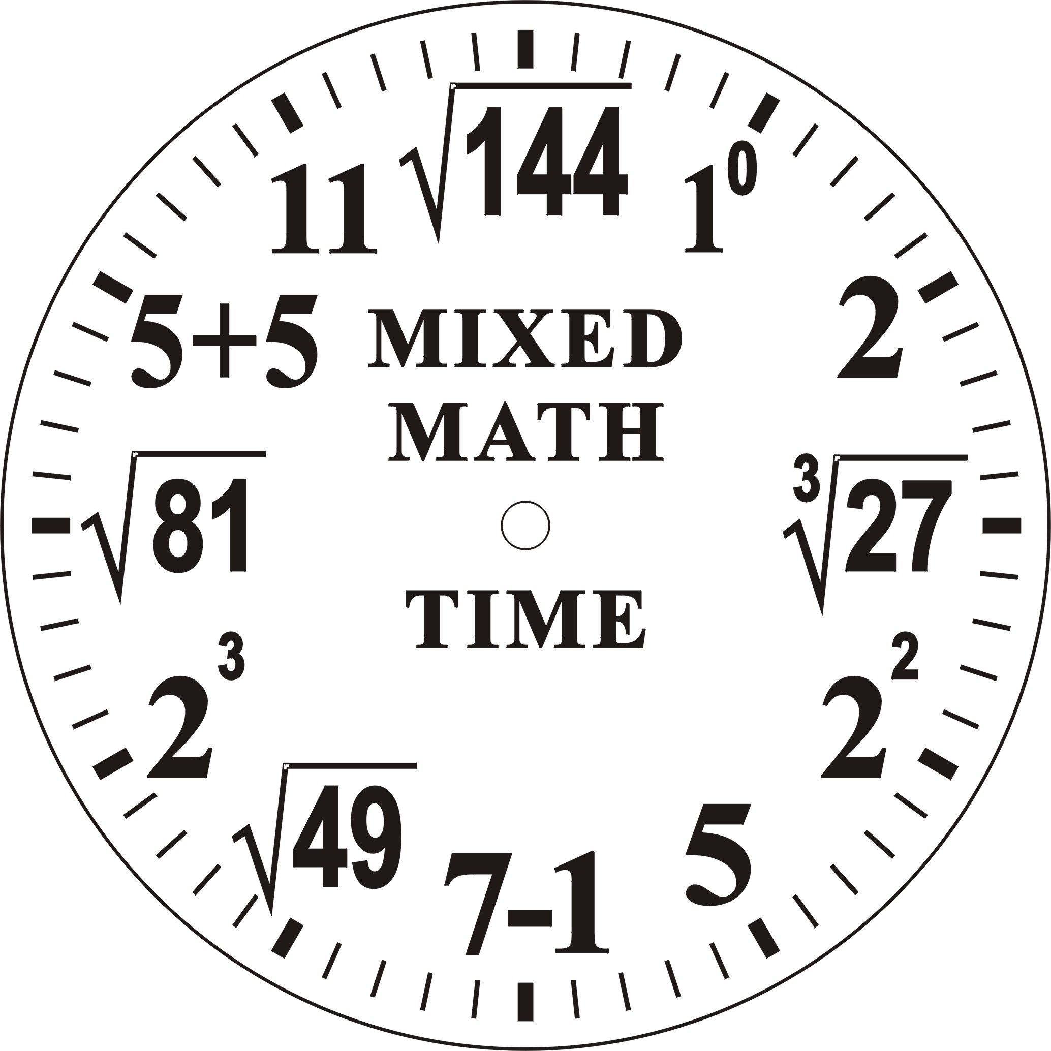 Worksheet Math Clock make your own clock face math digs pinterest numerical face