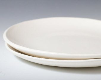 handmade plates pintrest - Google Search : white pottery dinnerware - Pezcame.Com