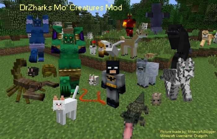 Minecraft Cool Mo Creatures Mod With Images Minecraft Survival