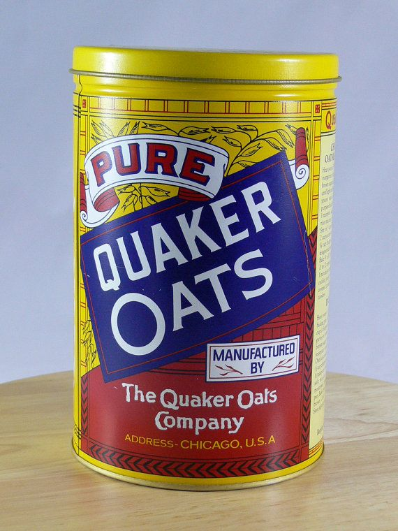Quaker Oats Can 1984 Limited Edition  Tin   MG119 by MasterGreig,