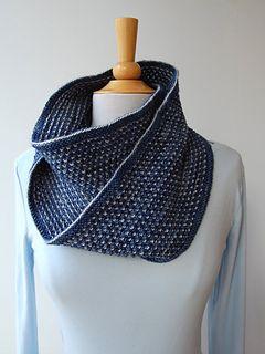 Ravelry: Chimes Cowl knitting pattern by Craig Rosenfeld.  Beautiful!