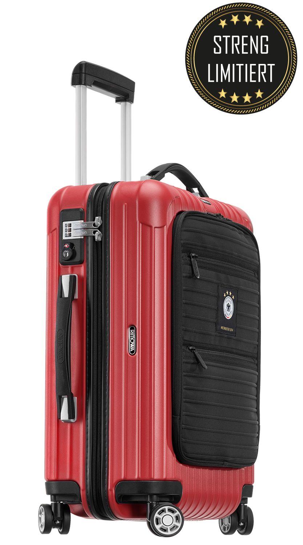 2f56ea0330c Rimowa Salsa Deluxe Hybrid DFB Cabin Multiwheel IATA Special Edition 02  victory red Der Original Koffer