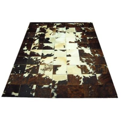 Spinneybeck Center Patch Haired Cowhide Rug Cowhide Patch Rug Rugs Cow Hide Rug