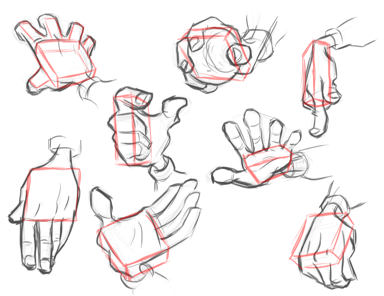 how to draw unturned hands