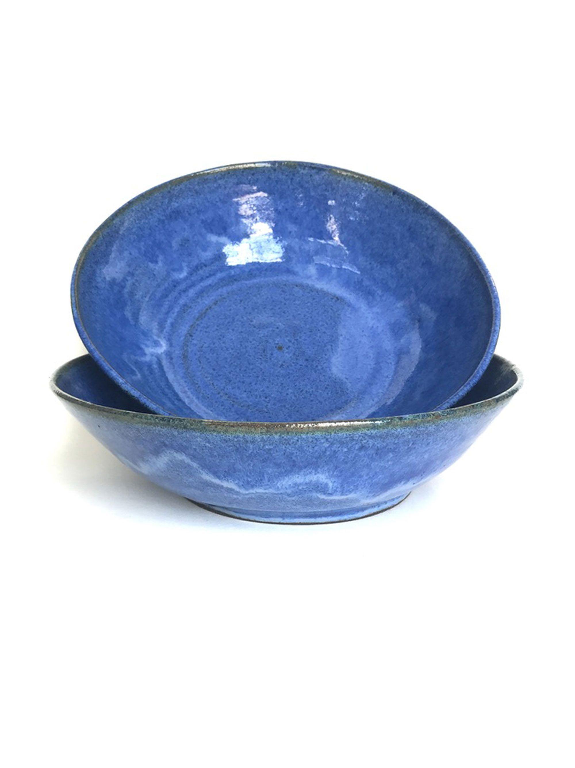 My blue devils. 10 inches.     www.amhceramics.etsy.com  #veganlife #wfpbdiets #vegan #wholefoodplantbaseddiet #claytalk #ceramics #clayinginsd #etsymudteam #ceramicstudio #potterylove #handmadepottery #ceramiclove #etsyfinds #inmykitchen #onmytable #handmadeisbetter #instapottery #pottersofinstagram #claystagram