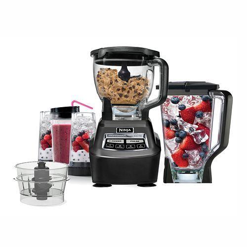 Ninja Mega Complete Kitchen System 1500 Blender and Food Processor