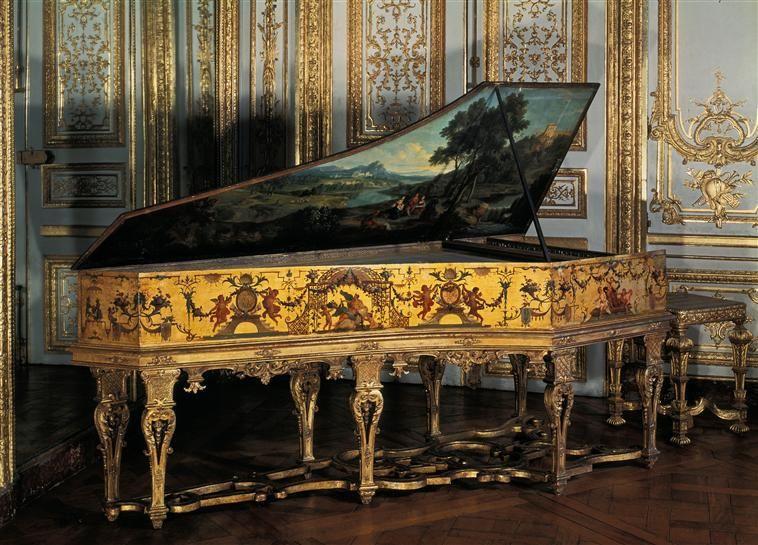 Hans Ruckers, Anvers  Claude Audran II (1639-1684)  Château de Versailles