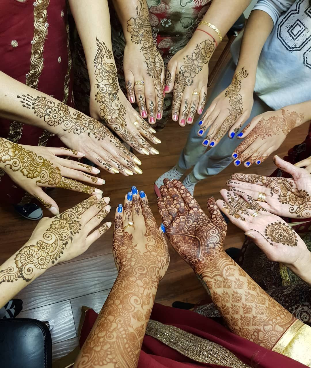 Henna hands henna for the bride lovely bride and the