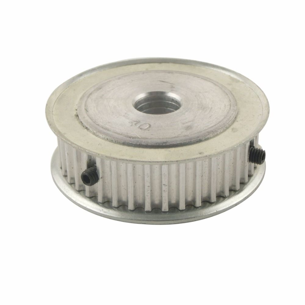 Aluminum Alloy 5m Type 40t 6mm Inner Bore 40 Teeth 5mm Pitch 16mm Gt2 Timing Pulley 10mm Belt Width