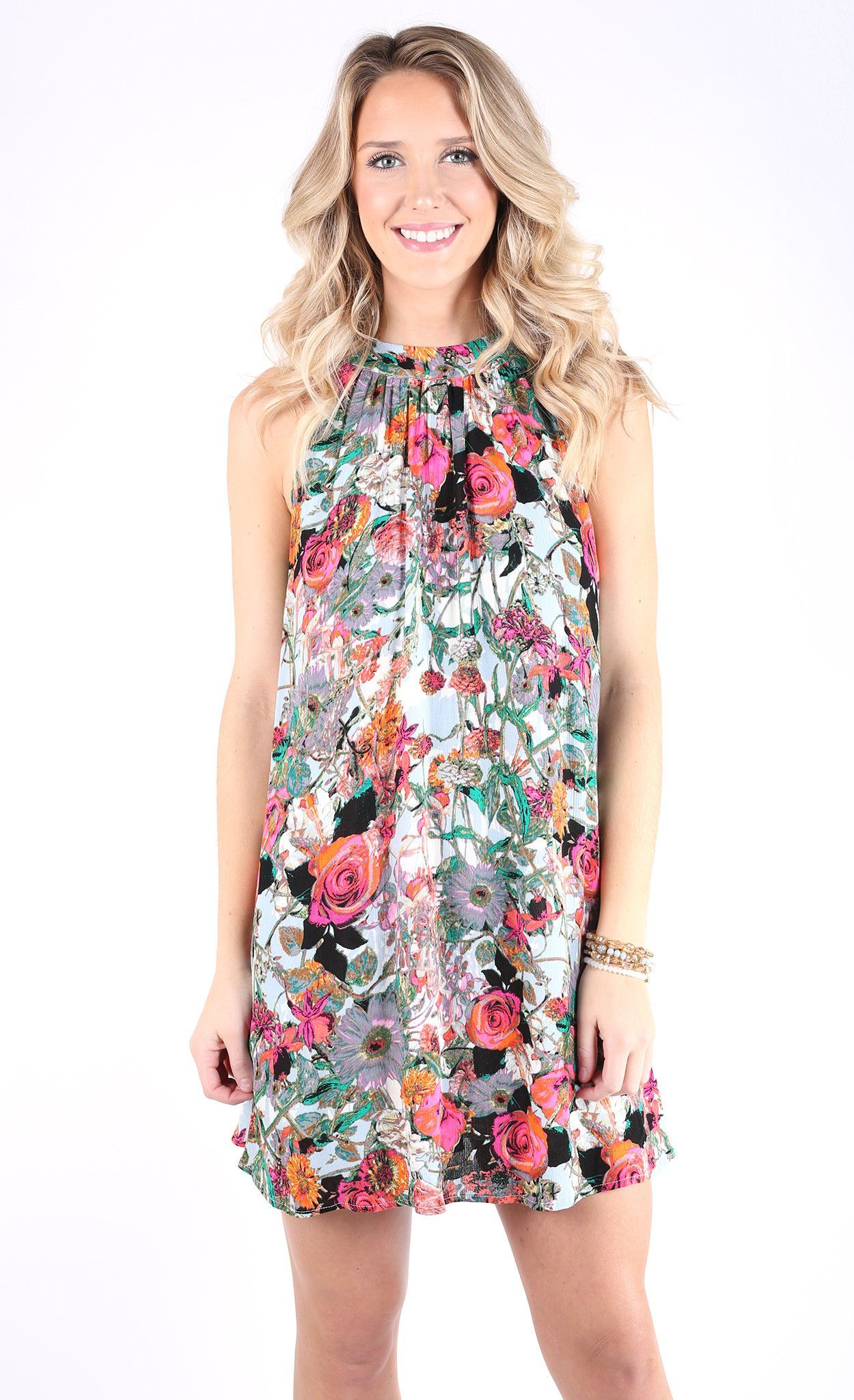 568508d917f Entro - Dress - Spring Away Dress - Pink - Cheeky Peach Boutique - 1 ...