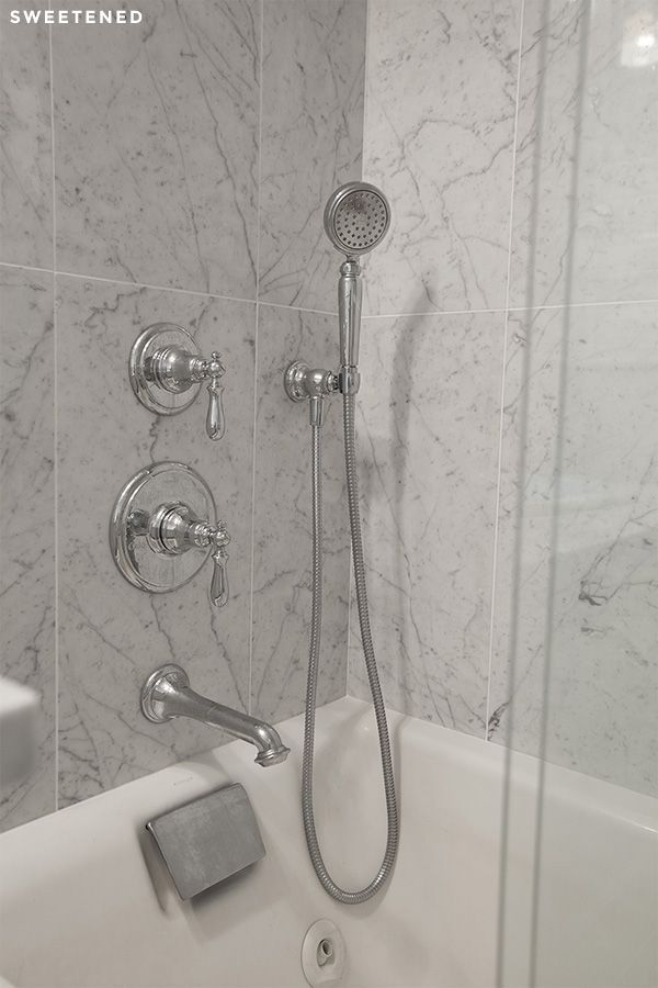 Modern Meets Vintage In This Brooklyn Bathroom Which Features Kohler  Artifacts Shower Fixtures In A Kohler Tea For Two Whirlpool Tub.