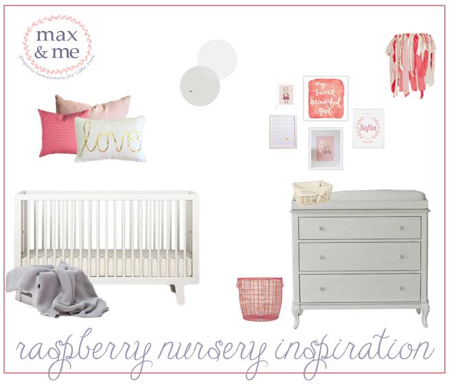 Max Me Raspberry Nursery Inspiration