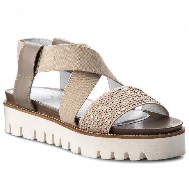 ec56179123a1e4 Sandały na platformie, płaskie, skórzane, idealne na co dzień! / Sandals on  the platform, flat heel, leather, perfect for everyday use!
