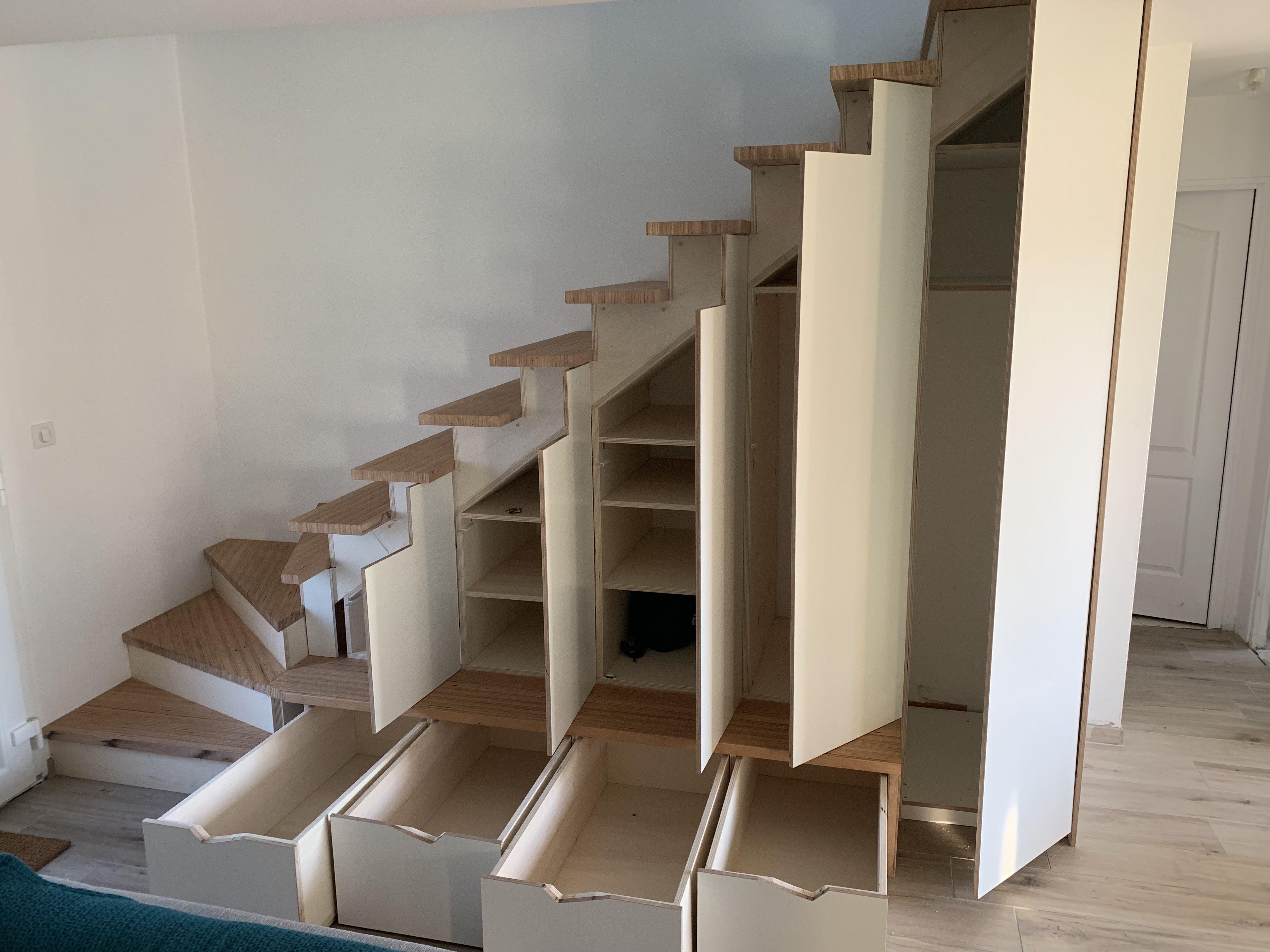Amenagements Sous Escalier Amenagement Sous Escalier Amenagement Interieur Escalier