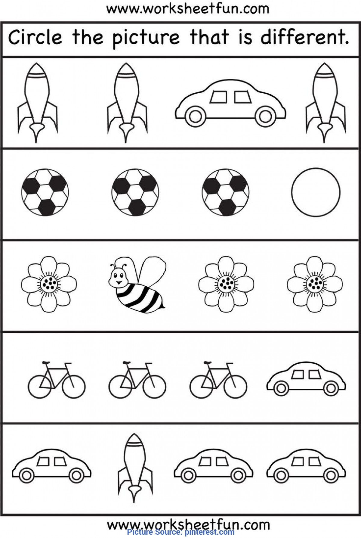 Community Helpers Kindergarten Worksheets