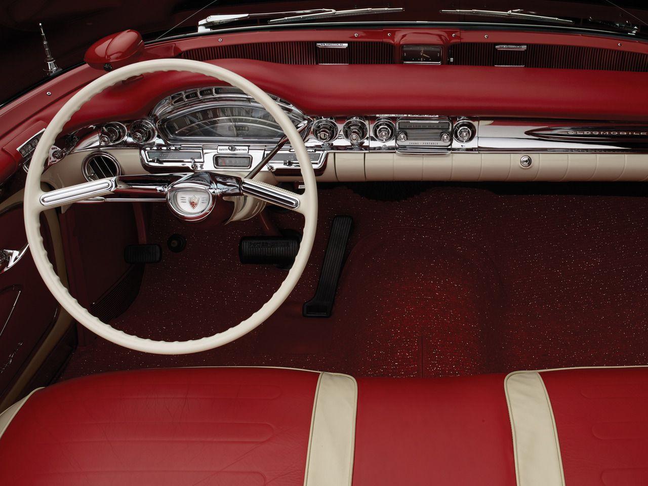 1958 Oldsmobile 98 Car Photographers Car Interior Oldsmobile