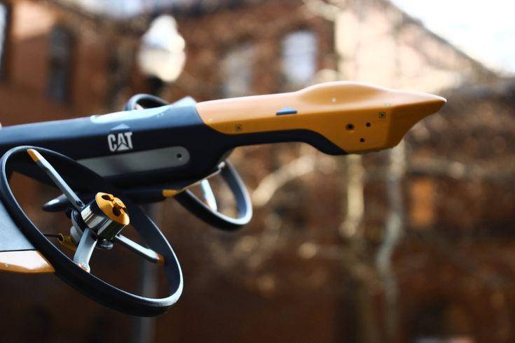 Drone design ideas school project with caterpillar