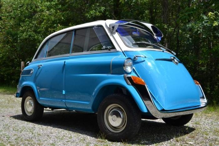 hemmings find of the day 1959 bmw isetta 600 bmw cars. Black Bedroom Furniture Sets. Home Design Ideas