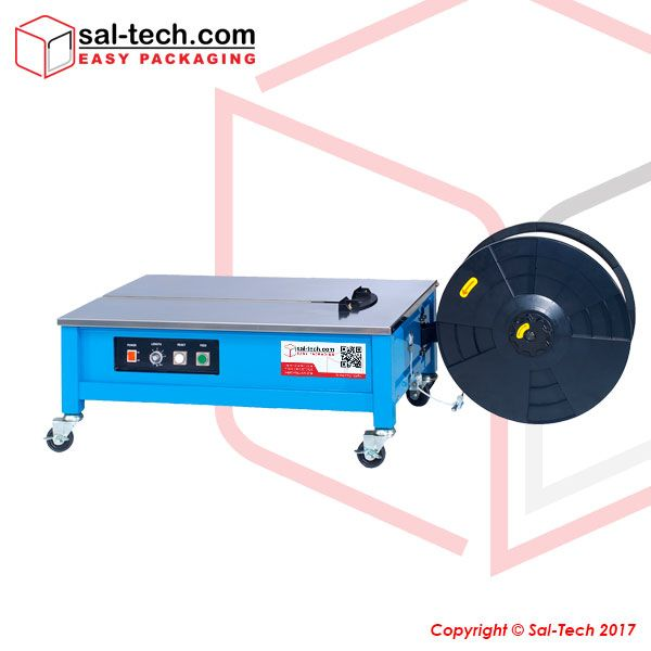 The Step 202l Is The Low Table Version Of Step Tp 202 Which Is Ideal For Low To Medium Volume Strapping This Semi Aut Low Tables Ergonomic Solutions Automatic