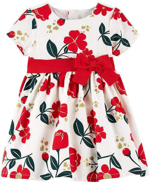 74d183b7e CARTERS Carter s Short Sleeve Dress - Baby Girls