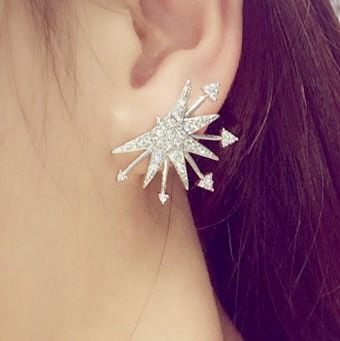 Spike & Arrow Stud Earrings