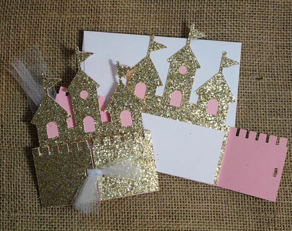Castle Invite Castle Invitation Princess Invitation