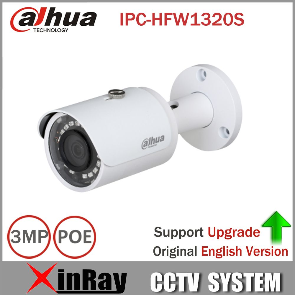 Camera De Surveillance Exterieur Dahua Dahua Ip Camera Ipc Hfw1320s 3mp Poe Mini Bullet Cctv Camera