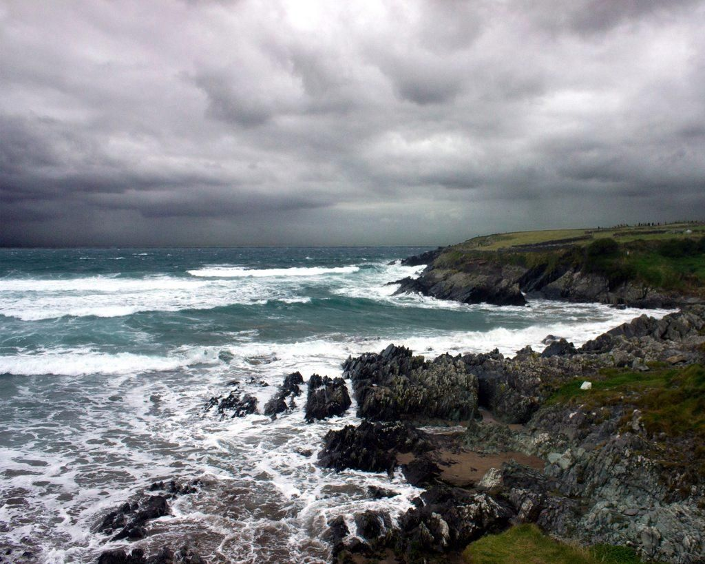 Stormy Weather Co Kerry Ireland ( 1024 x 819) (OC_   landscape Nature Photos